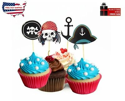 48pc PIRATE THEME , BIRTHDAY,HALLOWEEN,CAMPING,PICK-NICK  PARTY - SERVE 48 (Camp Themed Party)