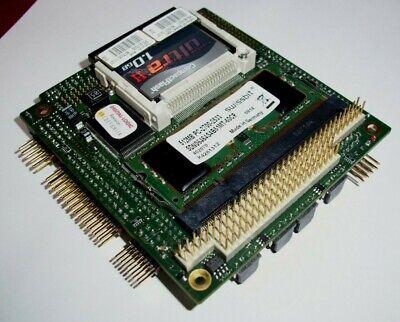Digital Logic  CPU Module Board MSM800SEL  w/ 1GB Flash Card + 512MB RAM for sale  Shipping to India