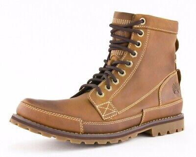 "Timberland Earthkeepers Original 6"" Medium Brown Nubuck Leather Boots 015551 210"