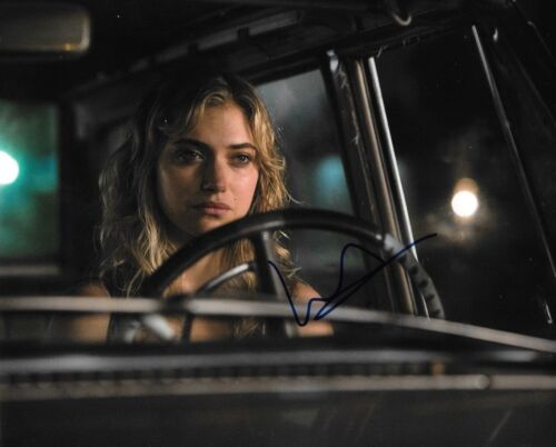 * IMOGEN POOTS * signed autographed 8x10 photo * NEED FOR SPEED * 4