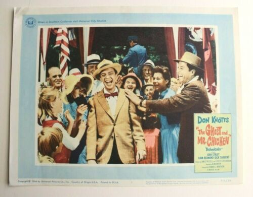 Don Knotts THE GHOST AND MR. CHICKEN - Original 11x14 Lobby Card - 1966