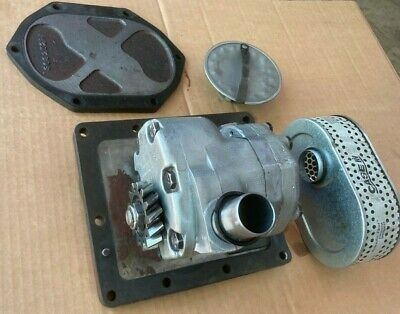 Farmall Ih 560 Tractor Cessna Hydraulic Pump With Screen And Mounting Plates