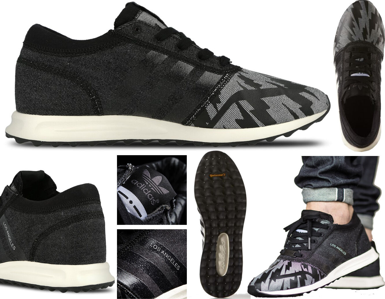 release date 10bd4 a836c Black S78367 LOS ANGELES - Adidas Trainers
