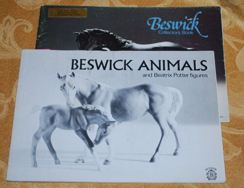 TWO BOOKS - VINTAGE BESWICK POTTERY ANIMALS Collectors Books
