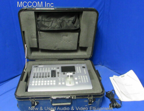 Sony MCS-8M Multi Format SD / HD Audio and Video Switcher w/ case
