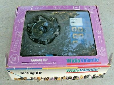 Widia Valenite Tooling Kit Indexable Face Mill 539.62.654 Carbide Inserts Snmt