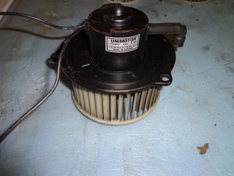 ac 1084 series blower. toyota supra mk3 1986.5-1992 a/c / heat inside blower fan universal wired ac 1084 series