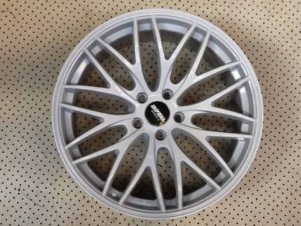 """19"""" ROYAL WHITE HOLDEN COMMODORE FORD FALCON BMW ALLOY WHEELS Ferntree Gully Knox Area Preview"""