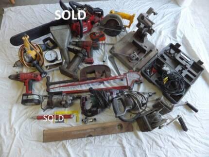Assorted Hand and Power Tools