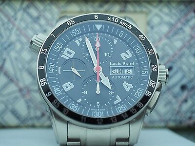 Louis Erard Swiss Automatic Chronograph Mens Watch