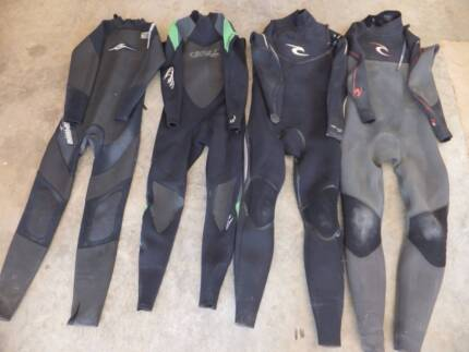 Full Length Steamer Wetsuits O'Neill, Ripcurl