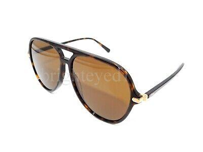 Authentic BRIONI Tortoise Aviator Pilot Sunglasses BR0047S - 002 *NEW*