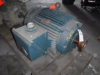 60 Hp Reliance Electric Motor 3600 Rpm 364ts 365ts Frame Tefc 460 V