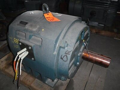 75 Hp Toshiba Electric Motor 900 Rpm 444t Frame Dp 460 V 1.15 S.f.