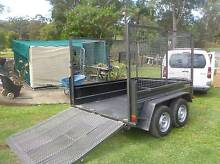 HEAVY DUTY 8x6' TRAILER 2000kg GVM tandem-high cage Woolgoolga Coffs Harbour Area Preview