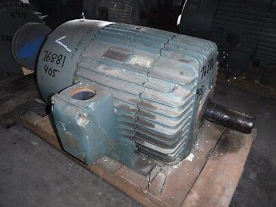 75 Hp General Electric Motor 1200 Rpm 405t Frame Tefc 460 V
