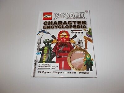 LEGO Ninjago Master of Spinjitzu Character Encyclopedia Book No Minifigure
