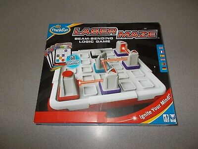 Laser Maze Game (Laser Maze beam bending logic game Thinkfun ages 8+ complete pre)