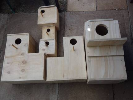 New bird nesting boxes