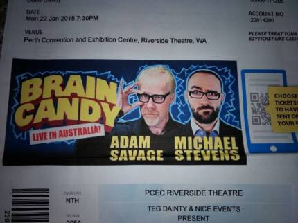 Tickets (2 off) to Brian Candy  - Monday 22nd January 2018