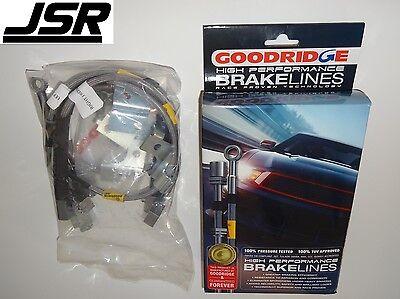 15 18 Mustang All Models Goodridge Stainless Steel Front  Rear Brake Lines