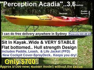 Perception Kayak Rudder Parts