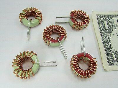 5 Large Tiger Copper Wound Ferrite Chokes 142-5100207-00l Toroids Inductors New