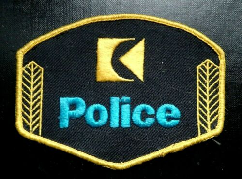 RARE Canadian Pacific Railroad Police Patch