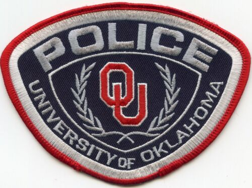 UNIVERSITY OF OKLAHOMA OK CAMPUS POLICE PATCH