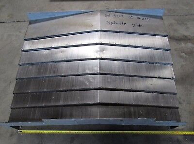 Z Axis Way Cover Spindle Side From Kitamura Mycenter H400 Approx 37 X 37