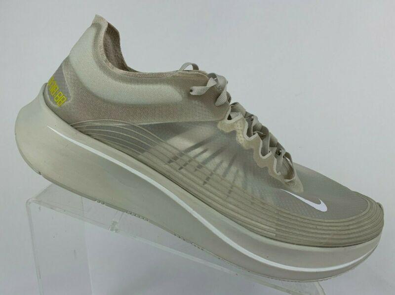 a1feb5768bad1 Nike Zoom Fly SP Running Shoes Light Bone Tan White SZ ( AJ9282-002 ...