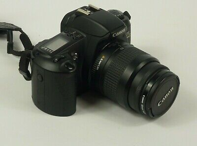 Canon Rebel EOS G 35mm Film Camera With 35-80mm Zoom Lens & 52mm Haze-1 Filter