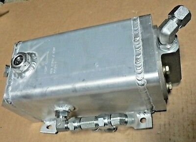 Hydraulic Oil Aluminum Tank 12349954 11.25 X 7.5 X 5 Probably 12 Gallon Or