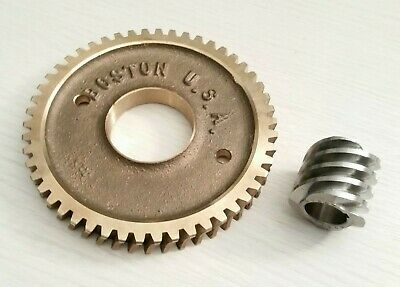 Boston Worm Gear Set Db1603a H1607 12.5 To 1 Ratio Modified