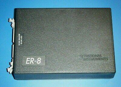 Ni Er-8 8 Channel Spdt Form C Relays In Case National Instruments Tested