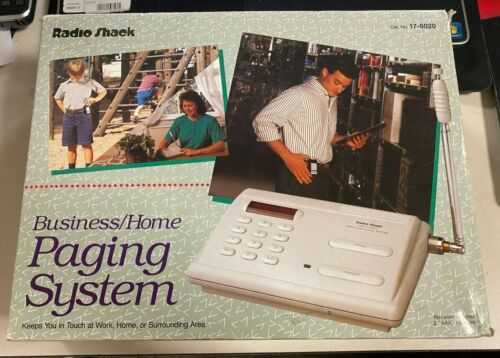 RADIO SHACK BUSINESS/HOME PAGING SYSTEM
