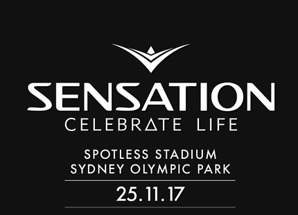 1 GA Ticket to Sensation 'Celebrate Life' Sydney 25 Nov 2017