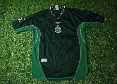 GUARANI BRAZIL # 10 2001/2002 RARE FOOTBALL SHIRT JERSEY HOME UMBRO ORIGINAL image