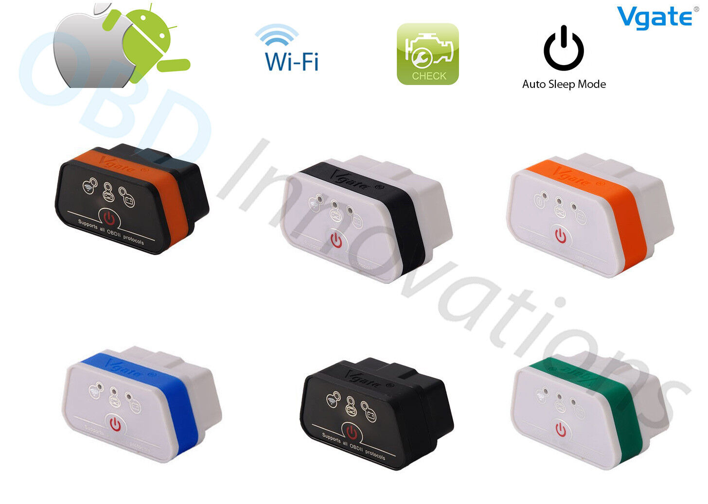 Vgate Icar 2 Elm327 Wifi Obd2 Car Diagnostic Scanner + Sm...