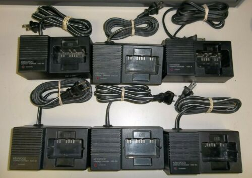 Kenwood KSC-8A Chargers (lot of 6)