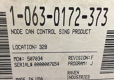 063-0172-373 Raven Node Can Control Single Product
