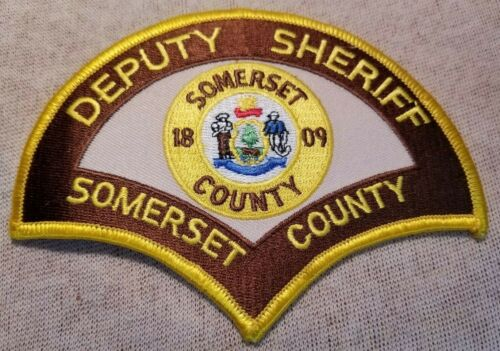ME Somerset County Maine Sheriff Patch