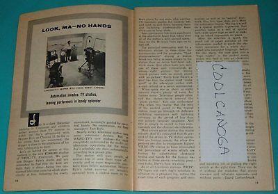 1960 TV ARTICLE~SKIPPER GLENN RYLE CINCINNATI,OHIO WKRC CHILDREN'S SHOW