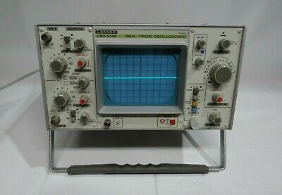 Leader Dual Trace Oscilloscope Lbo-514 10mhz Tested