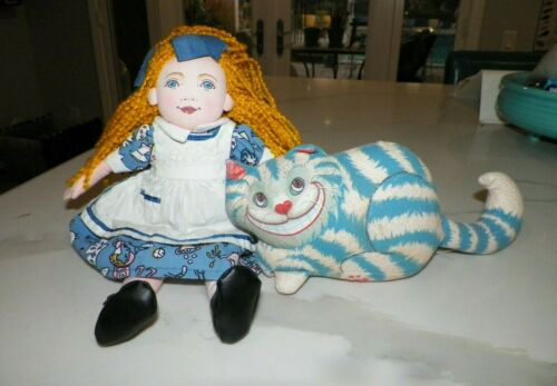 ALICE IN WONDERLAND & CHESHIRE CAT ARMAND EISEN MICHELLE WIGGINS DETERMINED PROD