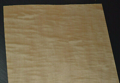 Curly Maple Raw Wood Veneer Sheets 11.5 X 28 Inches 142nd 4518-40