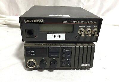 Zetron 7 Mobile Control Center 901-9122 Uniden Radio 564c Tool