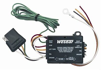 Wesbar Electronic Tail Lamp Converter 707295 For Towing - Electronic Tail Lamp Converter