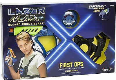 Silverlit Laser-Spiel Lazer MAD First Ops 86844 Lasertag Set Spielzeug-Blaster
