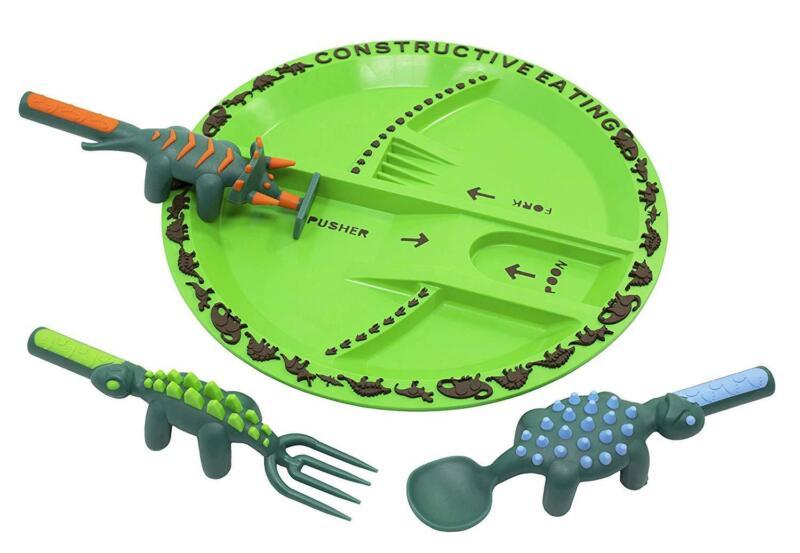 Constructive Eating Dino Children